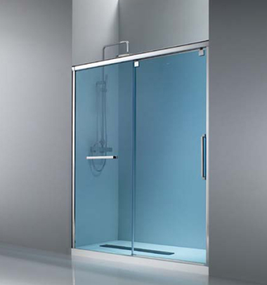 Aluminios vetro for Mamparas de ducha fijas