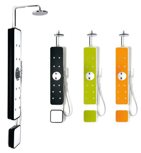 Aluminis coval columna de ducha iplash for Columnas de ducha